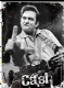 Johnny Cash Finger steel fridge magnet  (na)